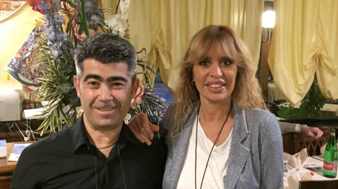 Ristorante Giustiniana - Alessandra Mussolini - Andrea Podda